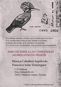 cartel direcciones moni y pancho